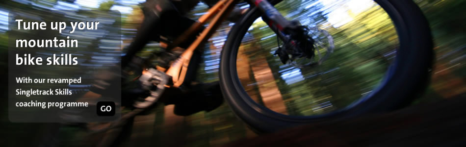 Tune up your mountain bike skills with our mountain bike skills coaching programme
